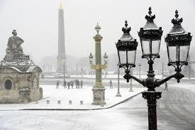 Beauté de Paris sous la neige1